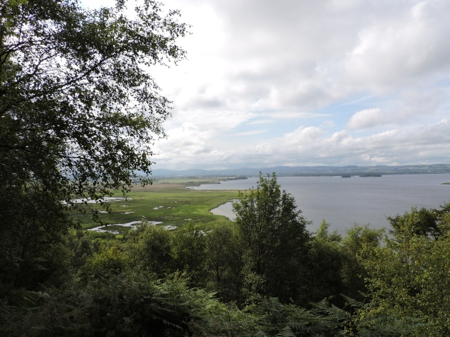 View of Loch Leven from the Viewpoint Loop walk