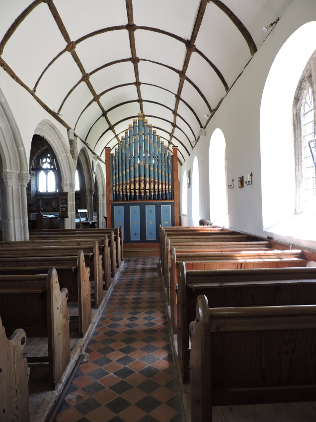 Church organ in St Clement's - which has it's own u-tube video!