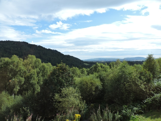 Views from Lodge Forest Visitor Centre
