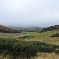 Miles of unpopulated uplands